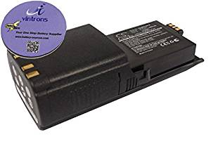 vintrons (TM) Bundle - 4600mAh Replacement Battery For MOTOROLA NTN7034, + vintrons Coaster