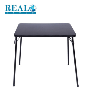 Best price wholesale lifetime steel table easy to use folding dinner table