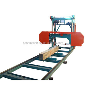 China SOSN Portable band saw sawmill for sale