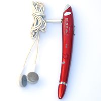 Red Color Real Pen Design Easy to Use Recording Pen Model Q25