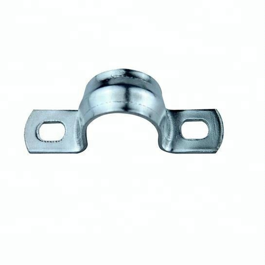 Stainless C shape U type hose saddle pipe repair clamp for steel pipe