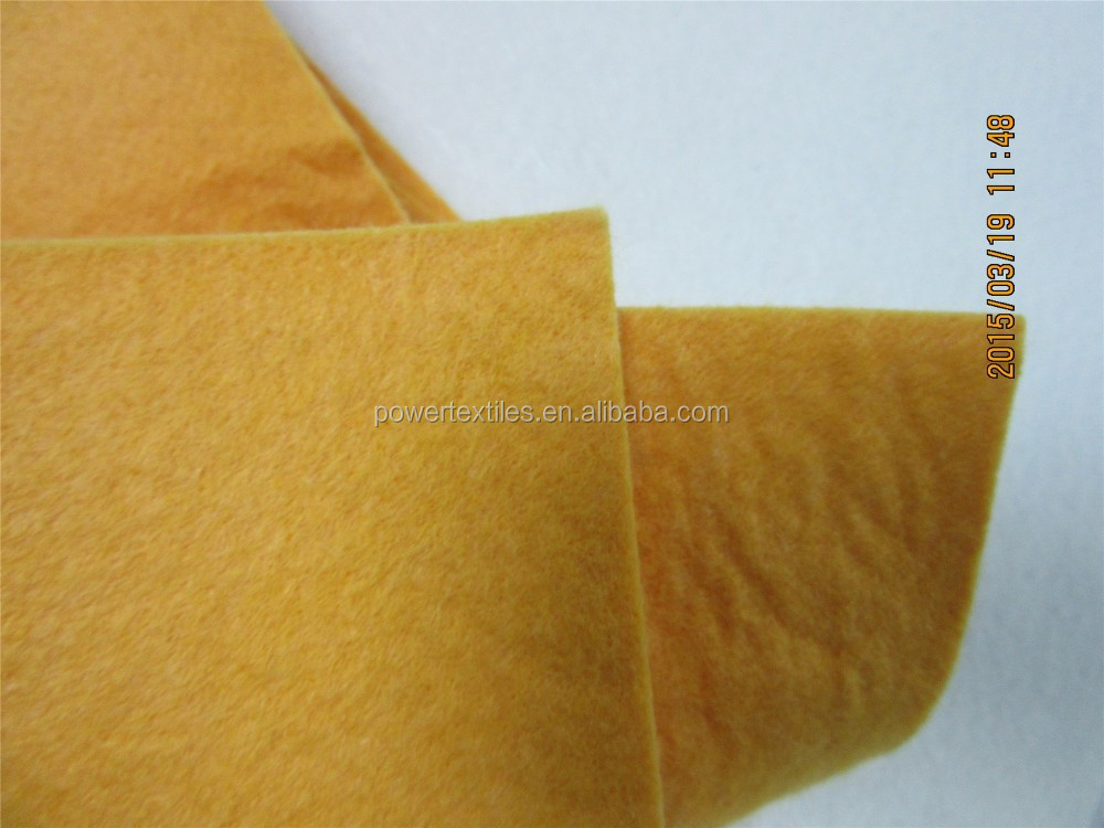 liquid absorbing non woven felts
