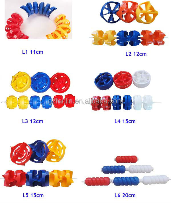 Standard Polypropylene  Swimming Lane Line Pool Safety Rope & Float Pool Ball Dead Bolt