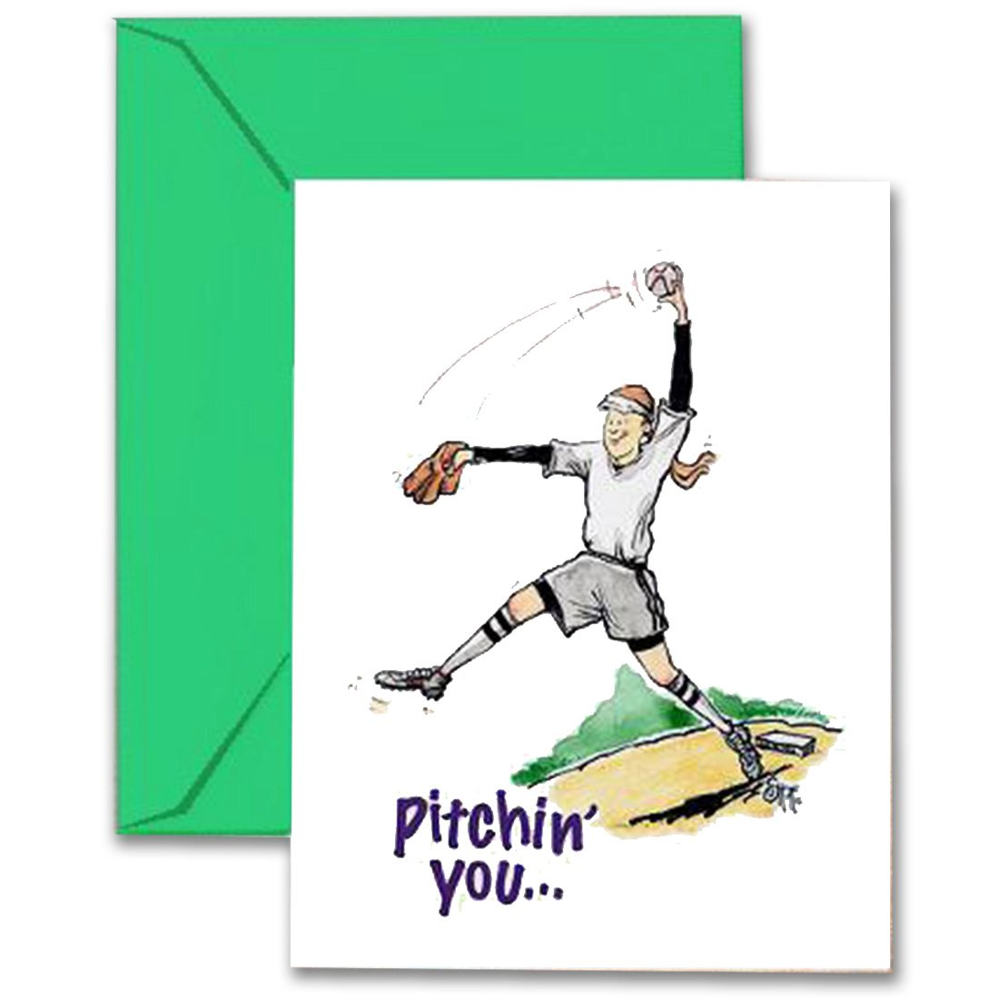 Cheap sports greeting cards find sports greeting cards deals on get quotations softball birthday card 5x7 play strong sports birthday greeting cards awesome for players m4hsunfo