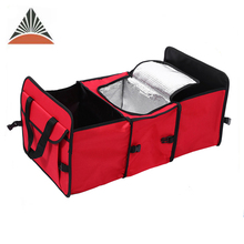 Hot Selling Outdoor Folding Boot Trunk Cooler Organizer Car Storage Bag