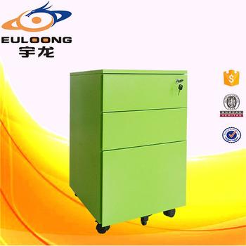 Por Second Hand Steel Office Furniture Mobile Pedestal Filing Cabinet For
