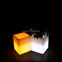 Led Lighted Flower Pots Glowing Planters Plant Pot Stand