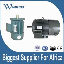 Y2 seres of high voltage squirrel cage three phase electric motor