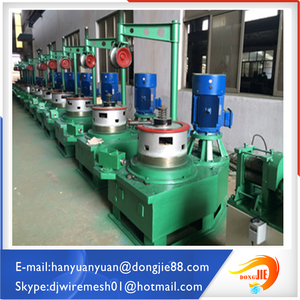 Dongjie for nails making price easy operation wire drawing machine