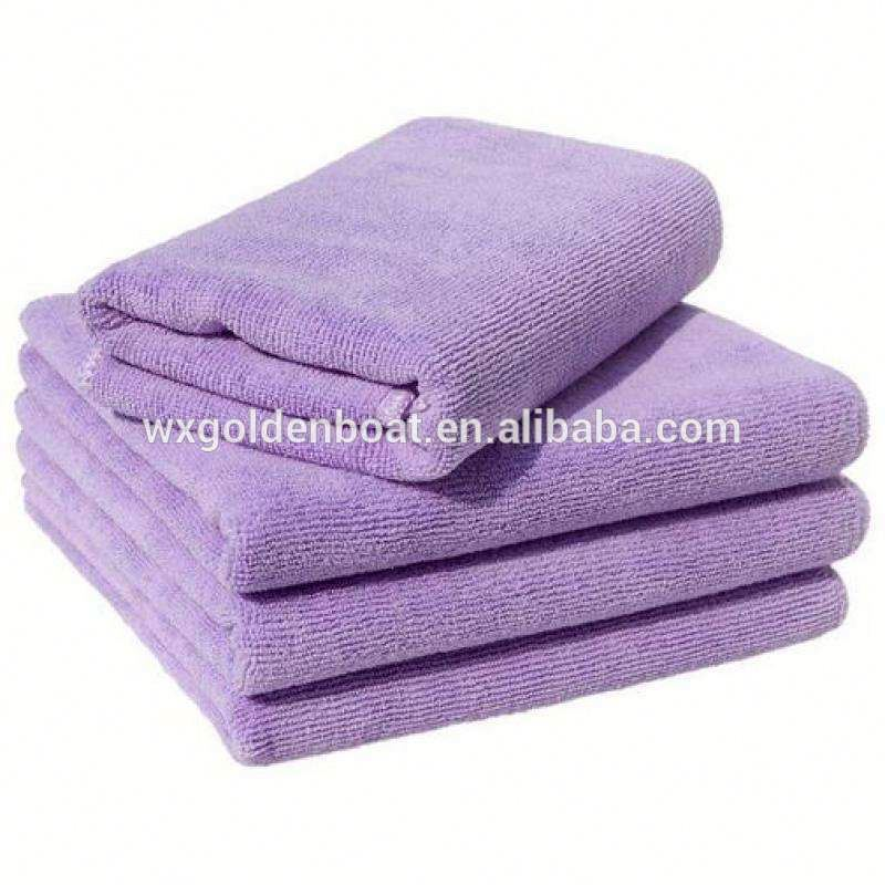 Washing beauties many use microfiber hair towel new style