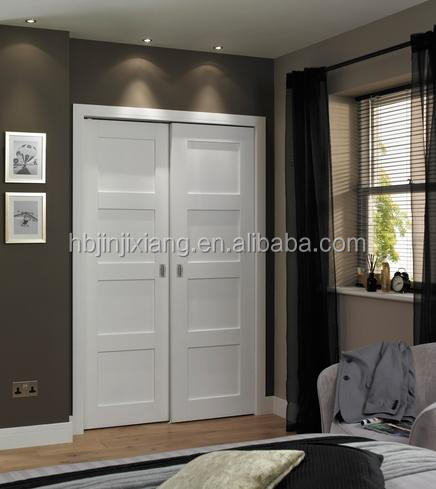 Modern White Pained Panel Wood Door