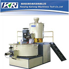 plastic masterbatch resin and pigment heating and cooling mixer/auto color mixing machine