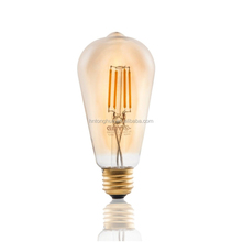 4W E27 Filament Light Bulb Retro Industrial Style Eddison Lamp ST64