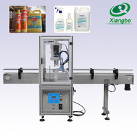 Automatic screw capping machine for plastic bottle