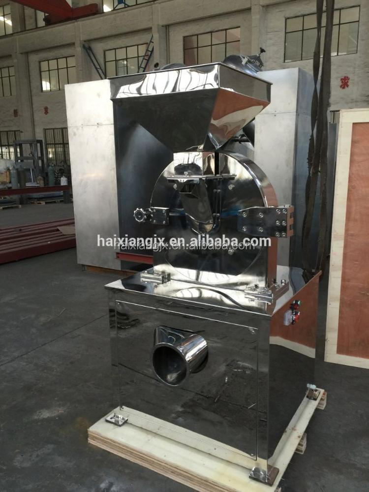 agricultural equipment crusher machine for material with high content of oil or fiber
