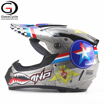 Custom Vintage ABS Shark Pattern Half Face Motorbike Motorcycle Helmet