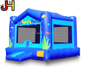 Ocean Bounce House Inflatable Ocean Bouncer Ocean Theme Inflatable