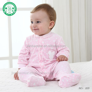 New Arrival Baby Clothes Baby Boy Girls Footed Romper