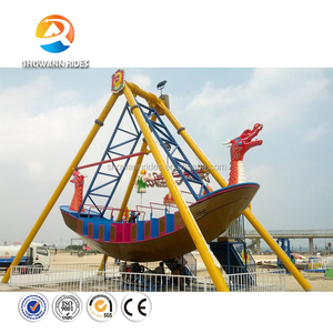 Theme park funny rides adult thrill pirate ship popular entertainment rides pirate boat for sale