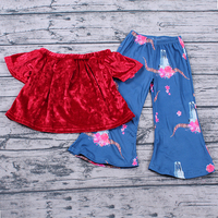 New fashion baby kids clothes in stock MOQ1 children boutique clothing fast shipping ready to ship