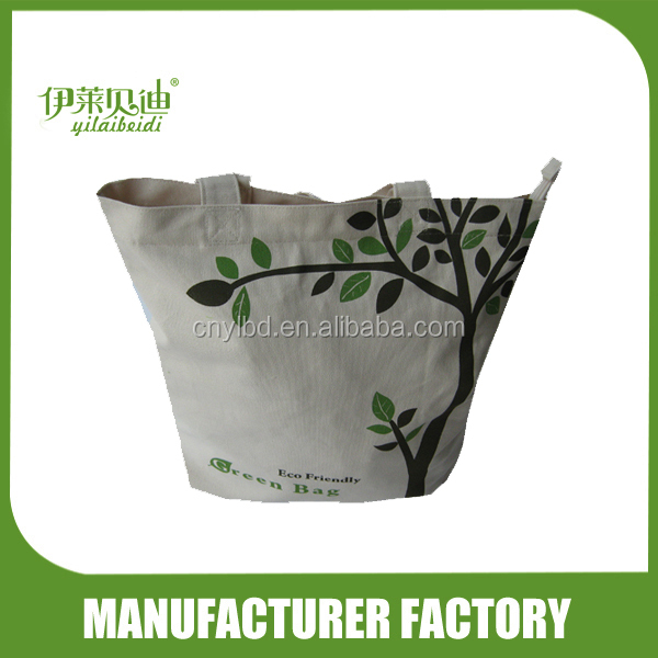 Hot sale promotional material shopping canvas bag/shopping bag cotton