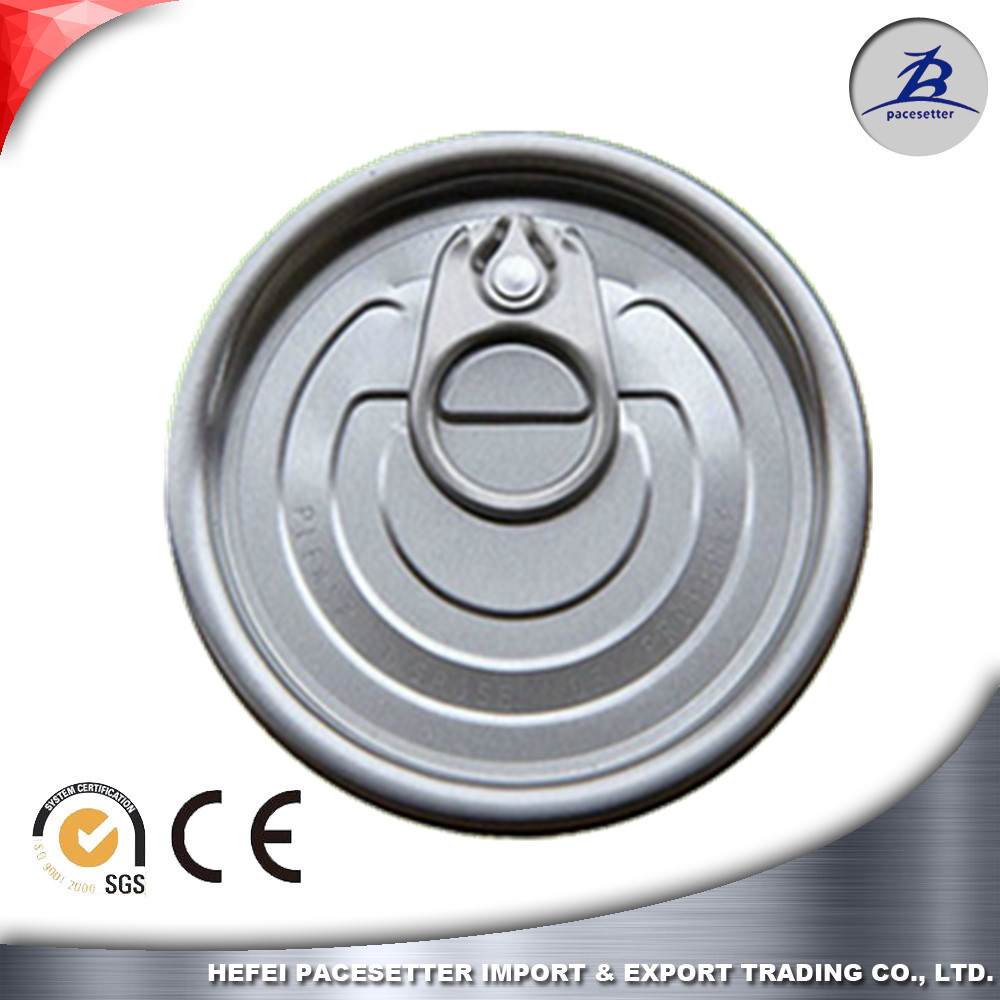 209#63mm aluminum full open easy open end for beverage can packaging