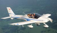 Sports aircraft in guangzhou