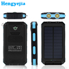 2017 trending products 10000mah waterproof dustproof solar power battery charger solar power bank for mobile phone