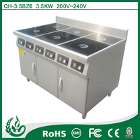 vertial high efficiency heavy duty electric stoves