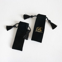 High Quality Black Velvet Pouch wholesale For Jewelry