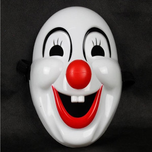 Funny mask Halloween Hard Plastic Clown Mask Masquerade Mask