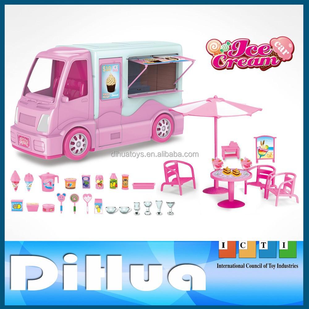 Kids Role Play Kitchen Chop Ice Cream Car - Buy Ice Cream Car,Ice ...