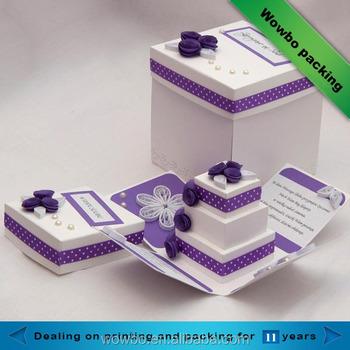Luxury Paper Cake Box Packaging Cardboard Box For Birthday Buy