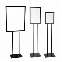 Floor Standing Poster Display Stand <span class=keywords><strong>Suporte</strong></span> <span class=keywords><strong>Do</strong></span> <span class=keywords><strong>Sinal</strong></span> Boletim <span class=keywords><strong>de</strong></span> Metal