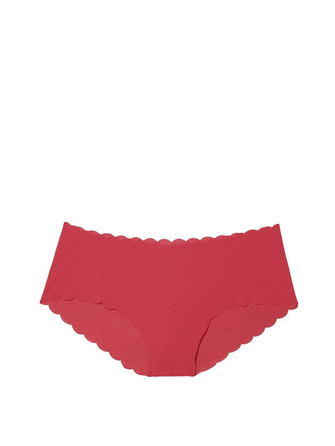 1b866a06a120 Get Quotations · Victoria 's Secret Very smooth Raw-cut Hiphugger Panty  medium Cool Maroon Scalloped