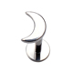 Moon Shape Unique Lip Ring Internally Threaded F136 Titanium Body Jewelry Labret
