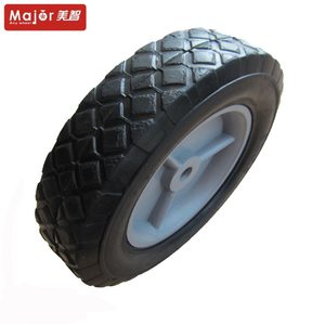 small rubber for toys Replacement Plastic Toy Wheels 8 inch garden stroller wheels children bike wheel