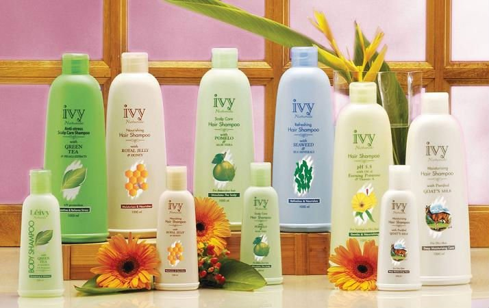 Ivy Naturale Hair Care Products