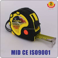 3 Stops High Precision Rubber Coat Tape measure Factory