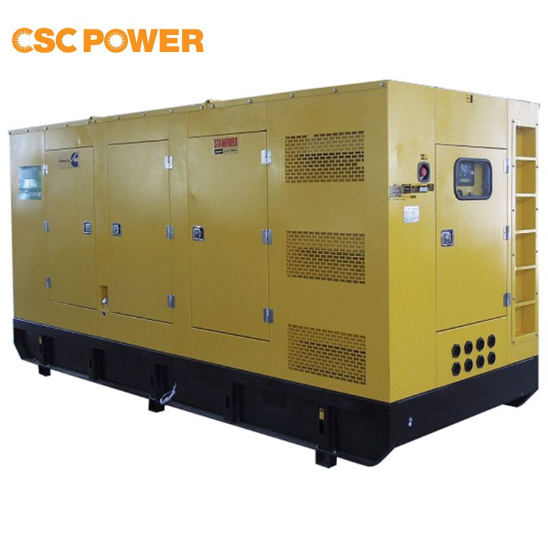 500kva with cummins engine kta19-g4 diesel power natural gas 50hz generator set