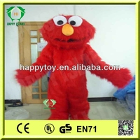 2014 HI CE high quality sesame street mascot costume