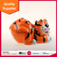 High quality low price ceramic donation money box made in DEHUA