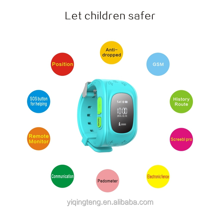 Kids GPS Tracker GPS smart watch with SOS Button for kids smart watch