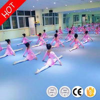 Anti-skidding Eco friendly cheap portable wooden dance floor for sale