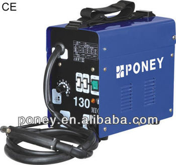 CE 230v portable AC small mig 100/130A/mig/transformer welding machine price/names of welding tools