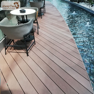 eco-friendly non-slip swimming pool solid composite decking exterior flooring non wood options
