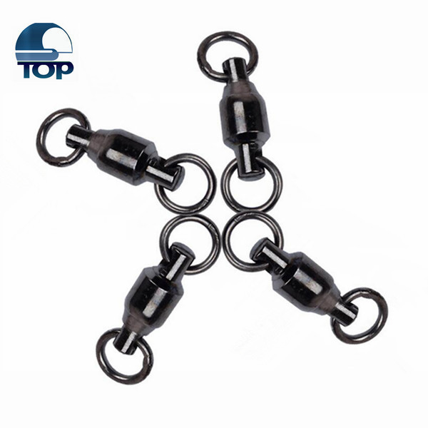 Fishing ball bearing swivel with solid ring with different test for a big discount