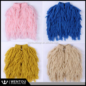 Kids Tassel Vest Waistcoats 2016 Autumn Hottest Colorful Kids Vest Baby Girl Tassel Sweater Vest Kids Coat