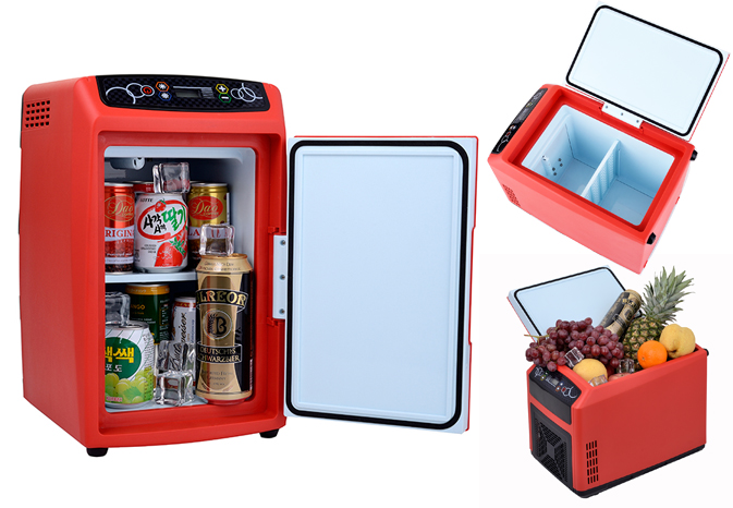 12L Battery Operated Mini Refrigerator Dc 12v Car Portable Fridge Freezer  Refrigerator