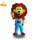 Funtoys CE Customized Cartoon Adult Fur Smile Lion Mascot Costume